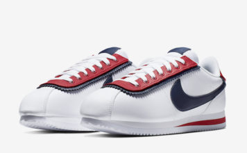 Nike Cortez Basic SE White University Red CD7253-100 Release Date