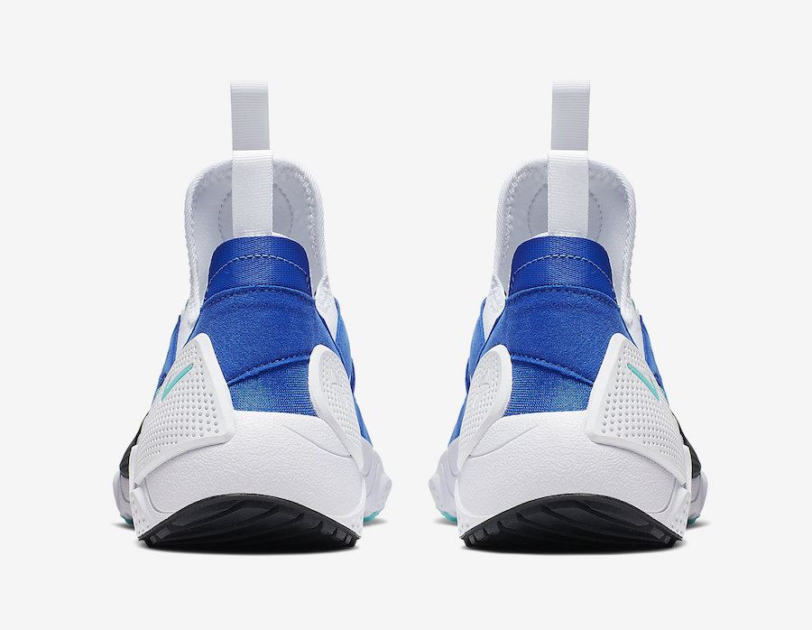Nike Air Huarache EDGE TXT White Hyper Jade Game Royal AO1697-102 Release Date
