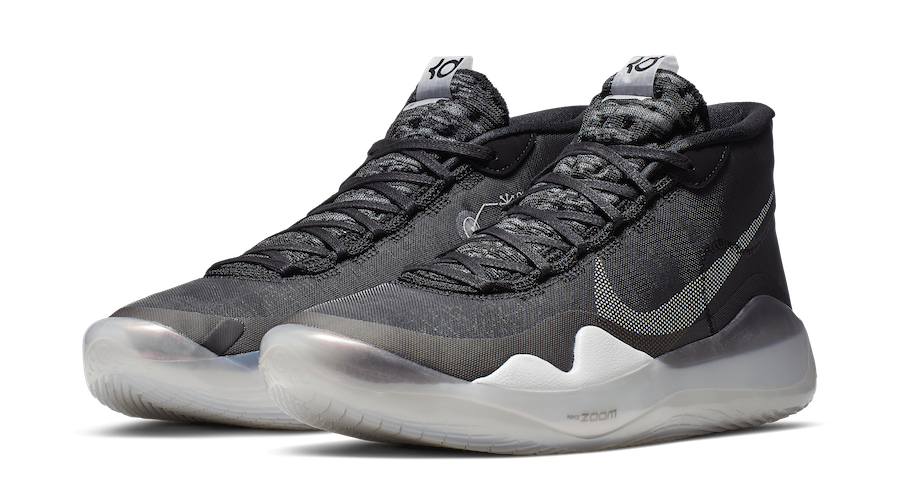 Nike KD 12 The Day One Black Pure Platinum White AR7229-001 Release Date