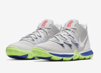 Nike Kyrie 5 Wolf Grey Lime Blast AQ2456-099 Release Date