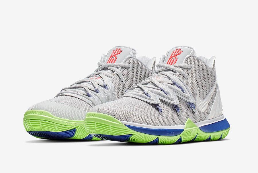 Nike Kyrie 5 Wolf Grey Lime Blast