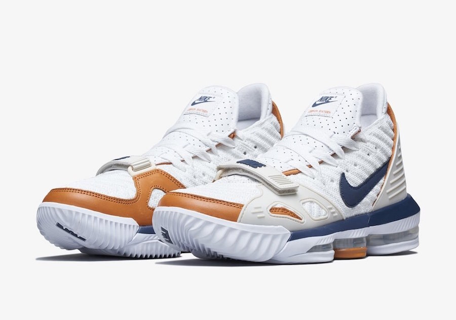Nike LeBron 16 Air Trainer Medicine Ball CD7089-100 Release Date