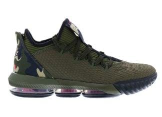 Nike LeBron 16 Low Camo Cargo Khaki CI2668-300 Release Date