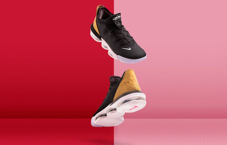 Nike LeBron 16 Low Soundtrack CI2668-001 Release Date