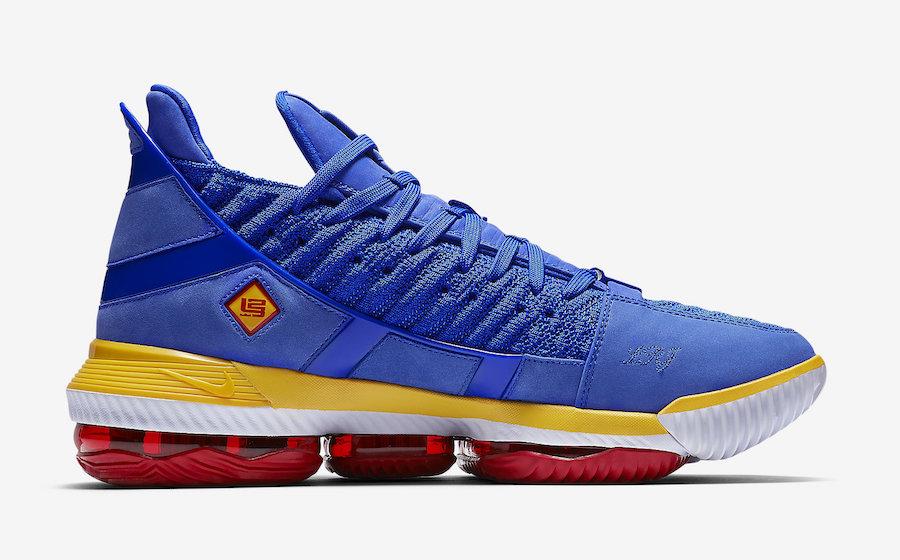 Nike LeBron 16 SB Blue CD2451-400
