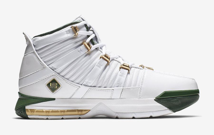 Nike LeBron 3 SVSM Home AO2434-102 Release Date