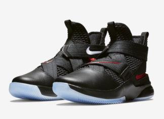 Nike LeBron Soldier 12 Bred AV3812-004 Release Date