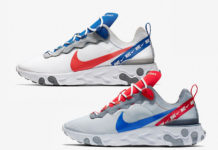 Nike React Element 55 CD7340-001 CD7340-100 Release Date