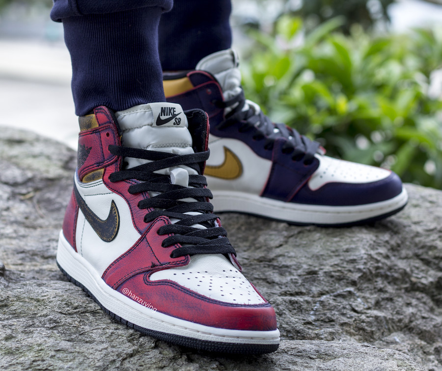 Nike SB Air Jordan 1 Chicago Lakers CD6578-507 Release Date