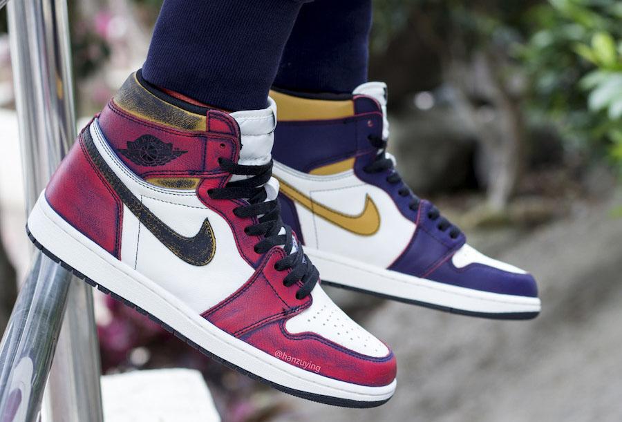 Nike SB Air Jordan 1 Chicago Lakers CD6578-507 Release Date