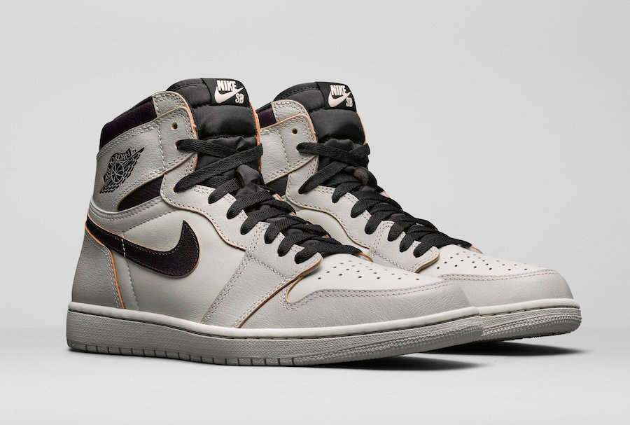 the latest 19745 69583 Nike SB Air Jordan 1 High OG Light Bone CD6578-006 Release Date Pricing