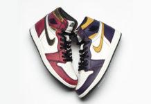 Nike SB Air Jordan 1 Lakers Chicago CD6578-507 Release Date