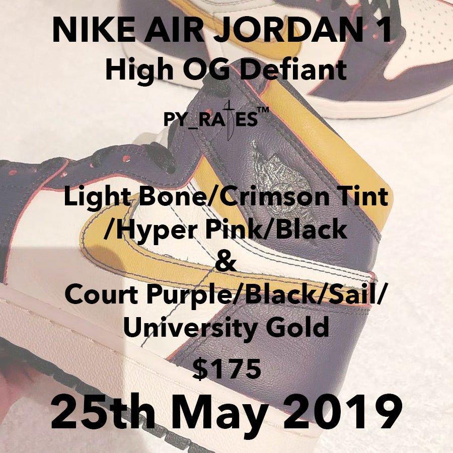 Nike SB Air Jordan 1 Pack 2019 Release Date