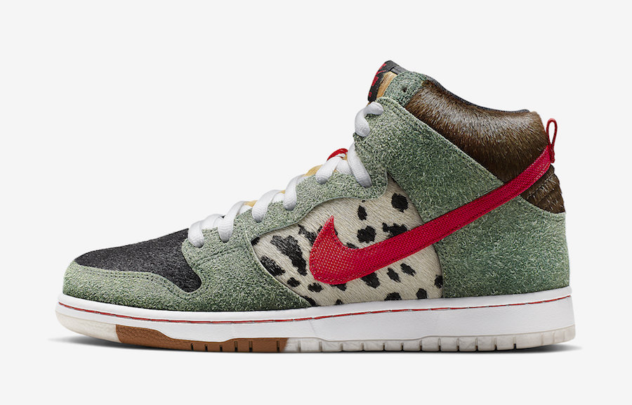 Nike SB Dunk High Dog Walker BQ6827-300 Release Date Price Info