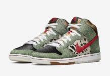 Nike SB Dunk High Dog Walker BQ6827-300 Release Date Price Info