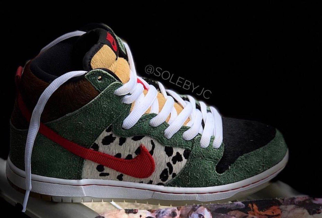 Nike SB Dunk High Dog Walker BQ6827-300 Release Date
