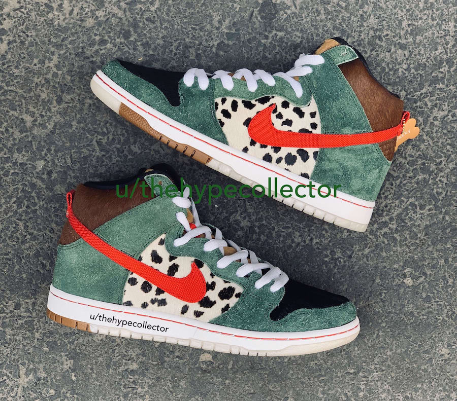 Nike SB Dunk High Dog Walker Release Date