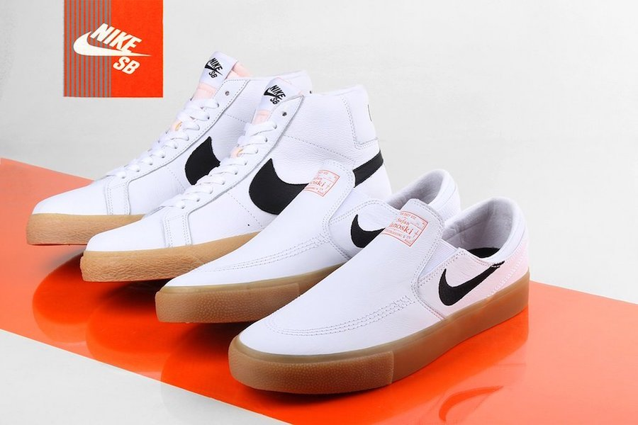 Nike SB Orange Label White Gum Pack Release Date