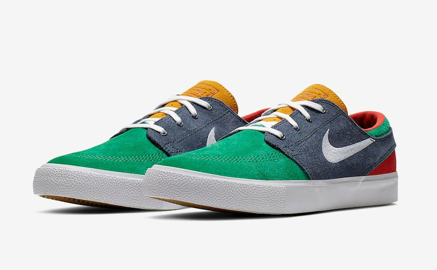 Nike SB Stefan Janoski Lucid Green