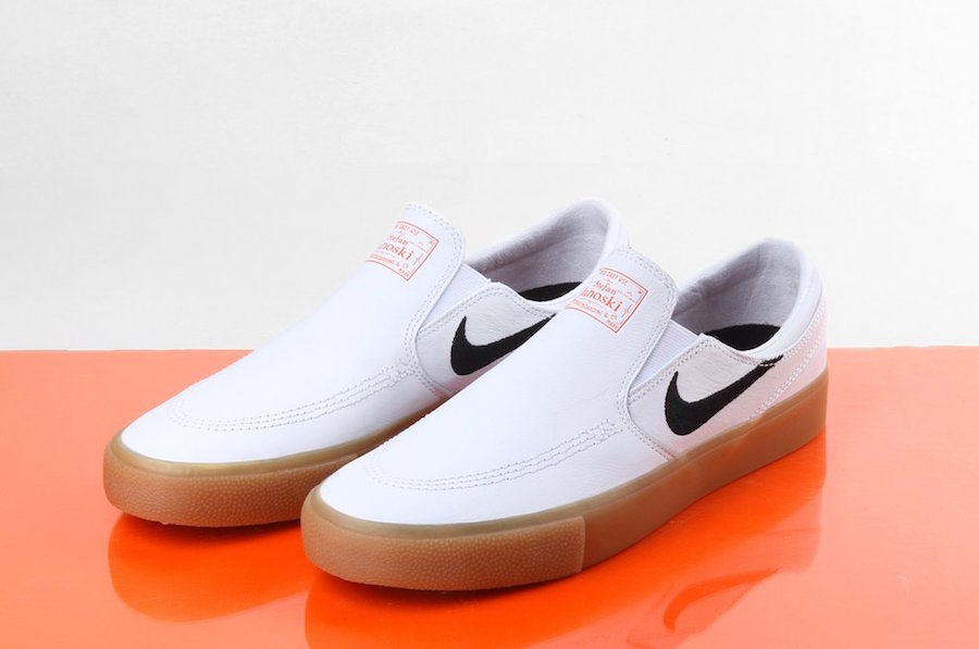 Nike SB Stefan Janoski Slip-On Orange Label