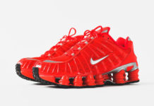Nike Shox TL Speed Red BV1127-600 Release Date