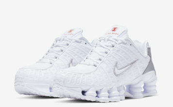 Nike Shox TL White Silver AR3566-100 Release Date