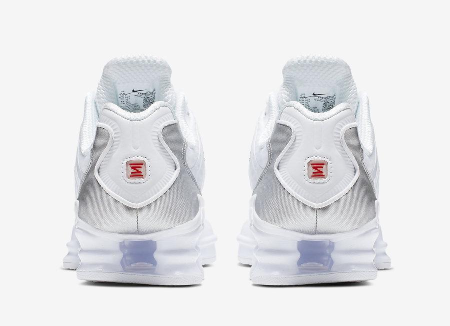 Nike Shox TL White Silver Nike Shox TL White Silver AR3566-100 Release Date Release Date