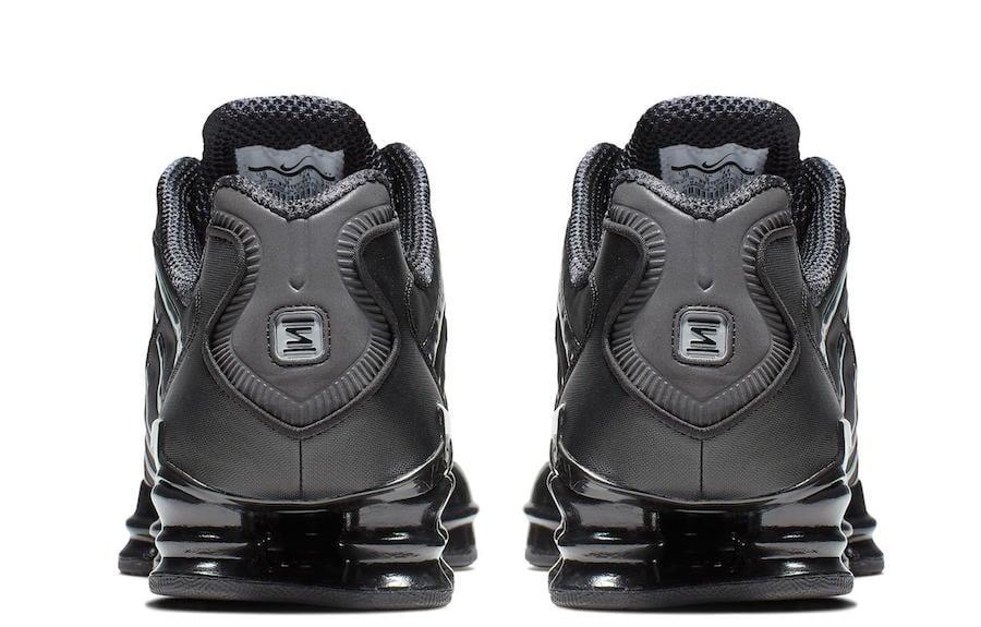 Nike Shox Total Black Release Date