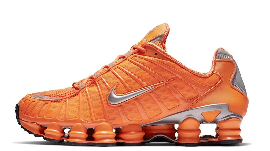 Nike Shox Total Orange Release Date