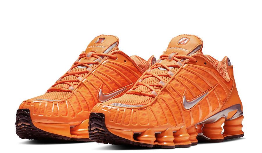 517edbadeafc Nike Shox Total Orange BV1127-800 Red BV1127-600 Black BV1127-001 ...