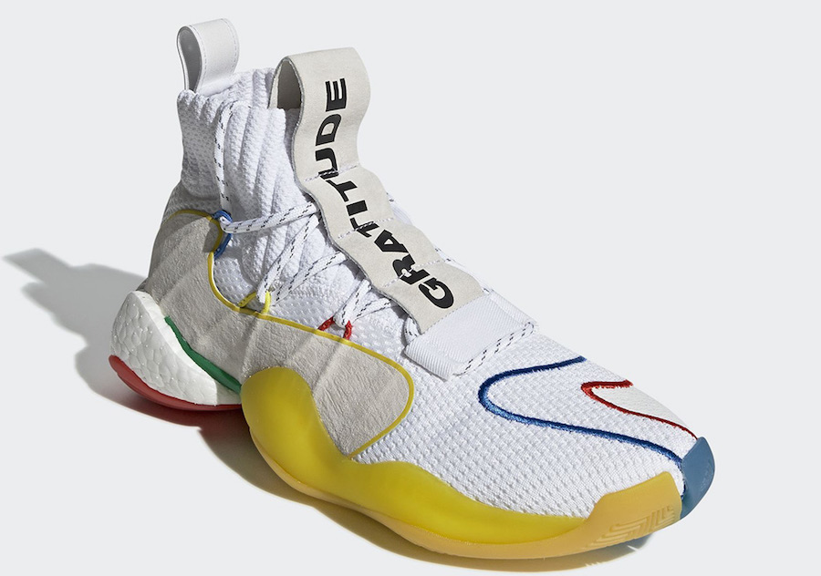 Pharrell adidas Crazy BYW LVL X White EF3500 Release Date