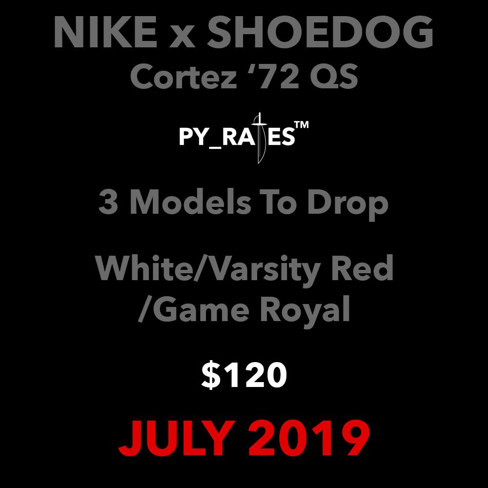 Shoe Dog Nike Cortez 72 QS Release Date