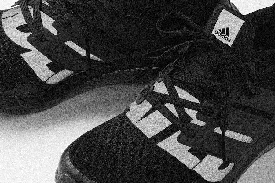 Undefeated adidas Ultra Boost Triple Blackout EF1966 Release