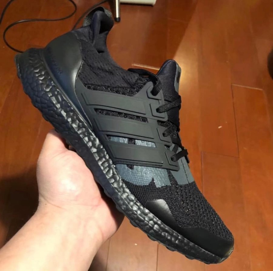 Undefeated adidas Ultra Boost Triple Black Release Date