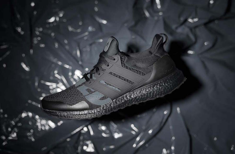 Undefeated adidas Ultra Boost Triple Black Release Date  0ac8041dd