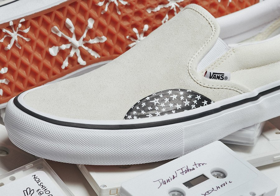Vans No-Comply Daniel Johnston Era Slip-On Release Date