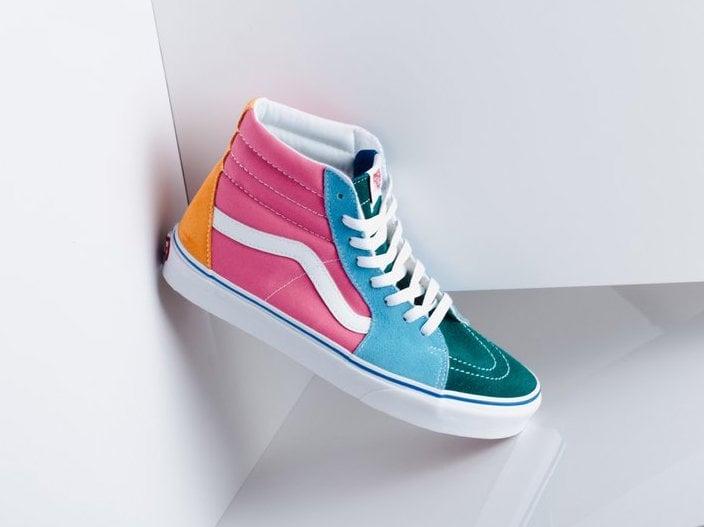 Vans Sk8 Hi Multi Release Date Sneakerfiles