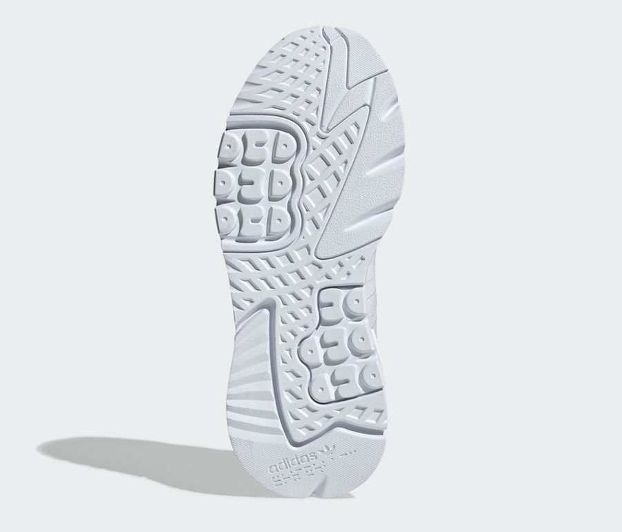 adidas Nite Jogger Triple White BD7676 Release Date