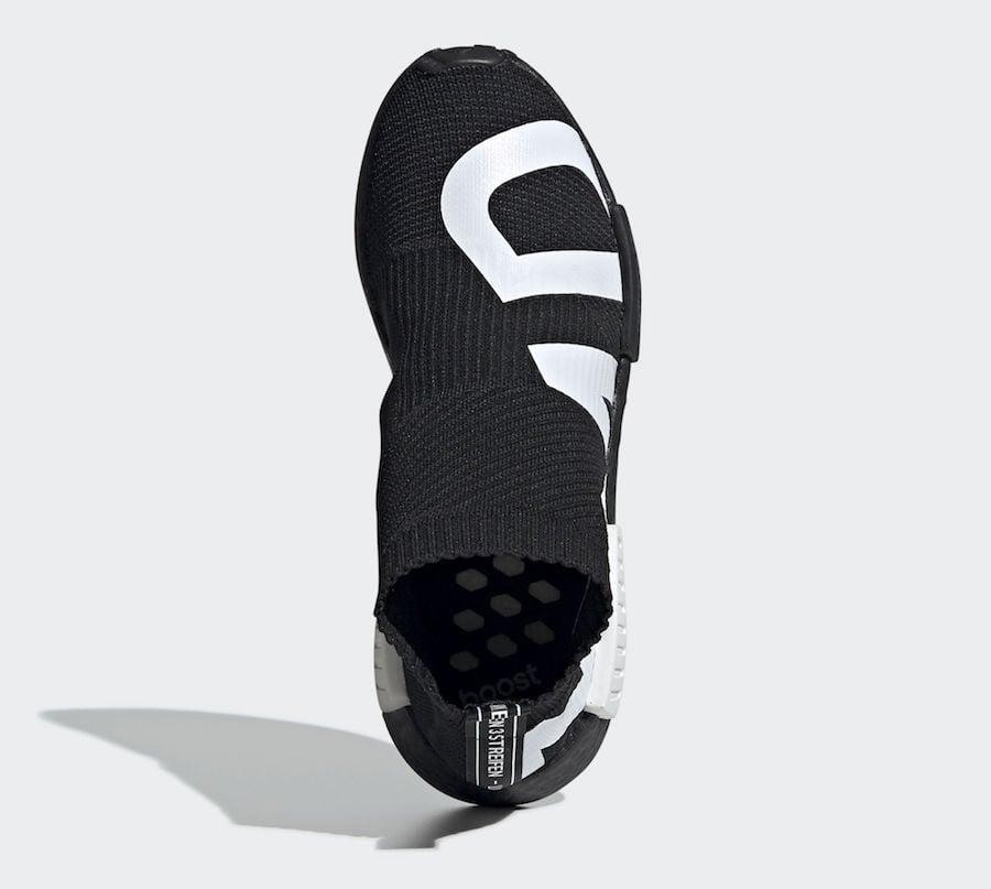 adidas NMD CS1 Primeknit Black EG7539 Release Date