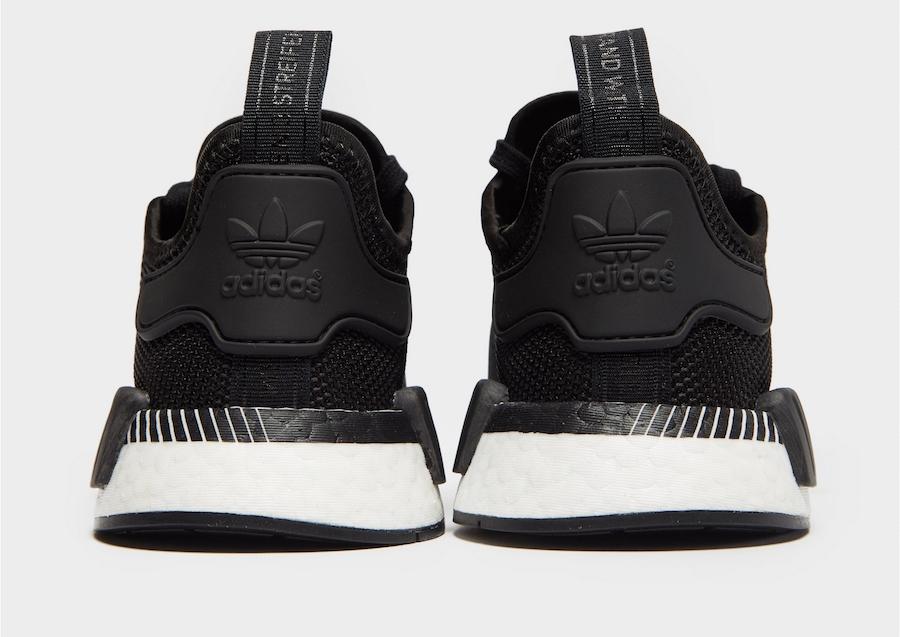 adidas NMD R1 Grey Black Diagonal Midsole Release Date