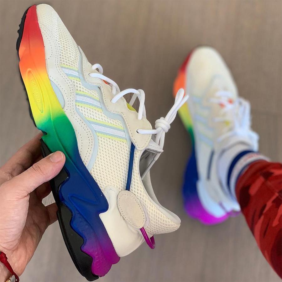 adidas Ozweego adiPRENE Love Unites Rainbow Release Date
