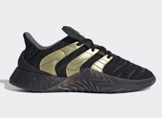 adidas Sobakov Boost Black Gold Metallic D98155 Release Info