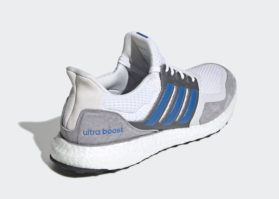 low priced 05ea0 3af08 adidas Ultra boost SL White Blue EF0723 Release Info