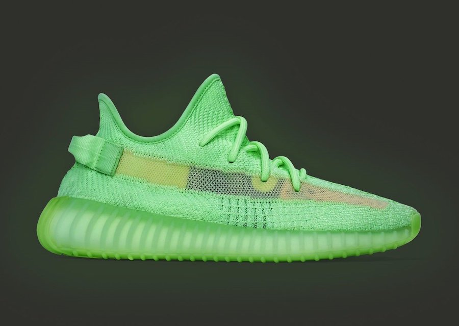 adidas originals yeezy boost 350 v2 neon