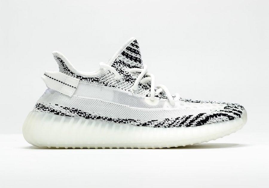 nike yeezy zebra