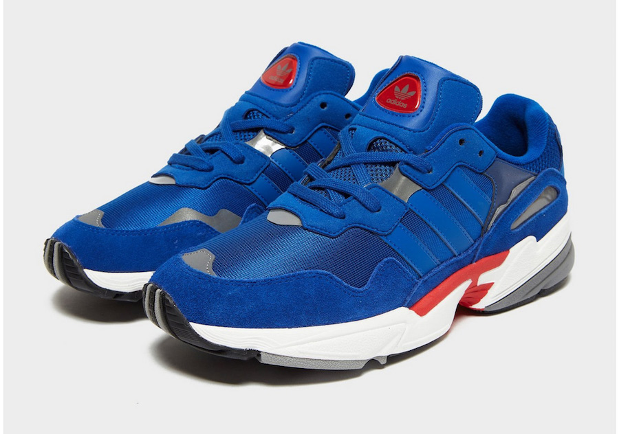 adidas Yung-96 Blue Red Release Date