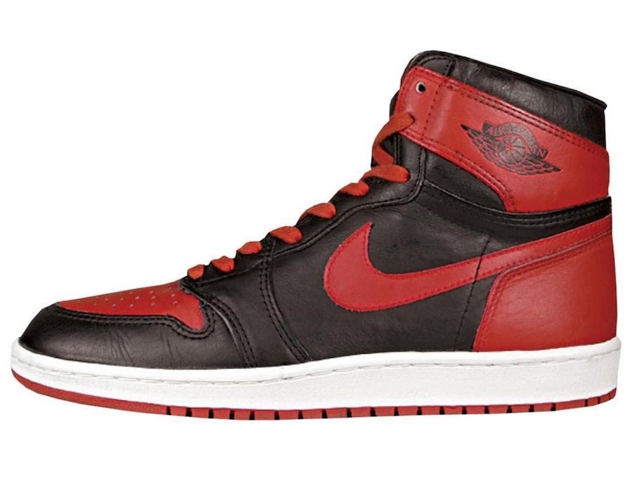 dad4a3a6b29 Air Jordan 1 High Bred Banned 555088-062 2019 Release Date ...