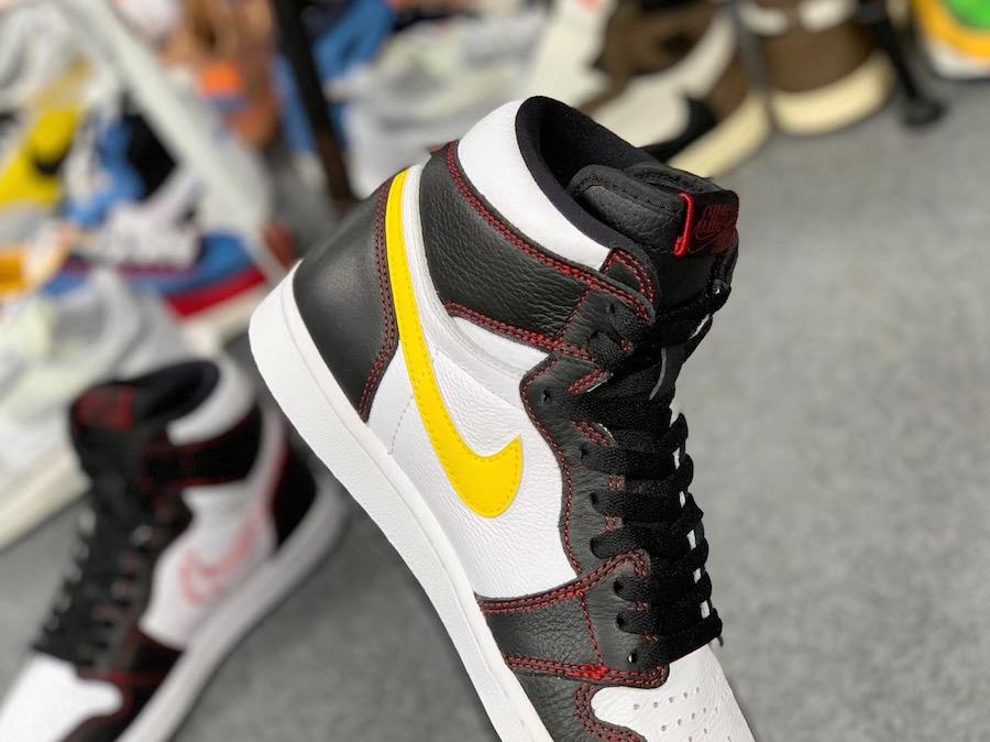 Air Jordan 1 High OG Dynamic Yellow 555088-170 Release Details