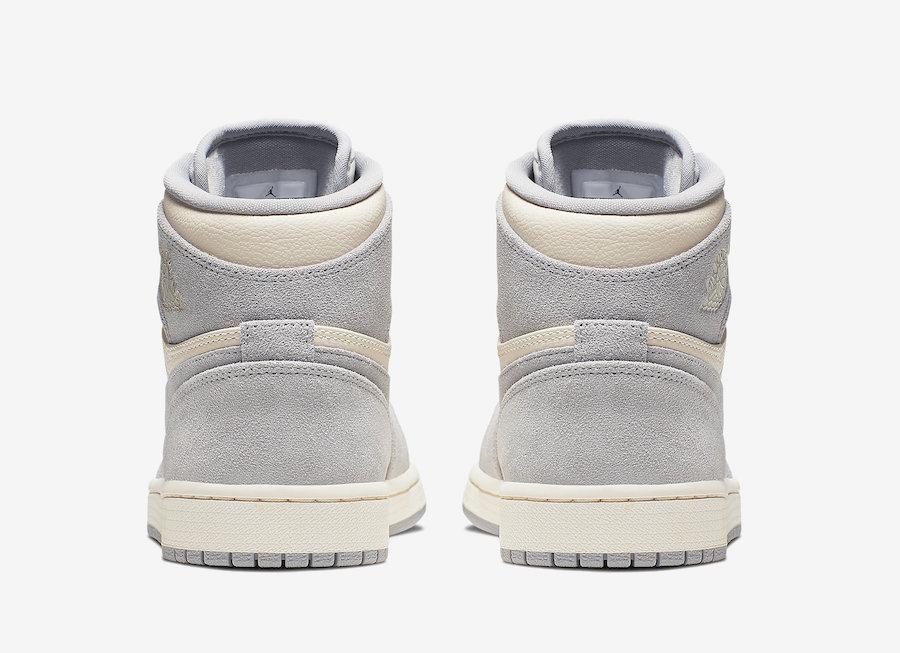 Air Jordan 1 High Premium Pale Ivory AH7389-101 Release Date