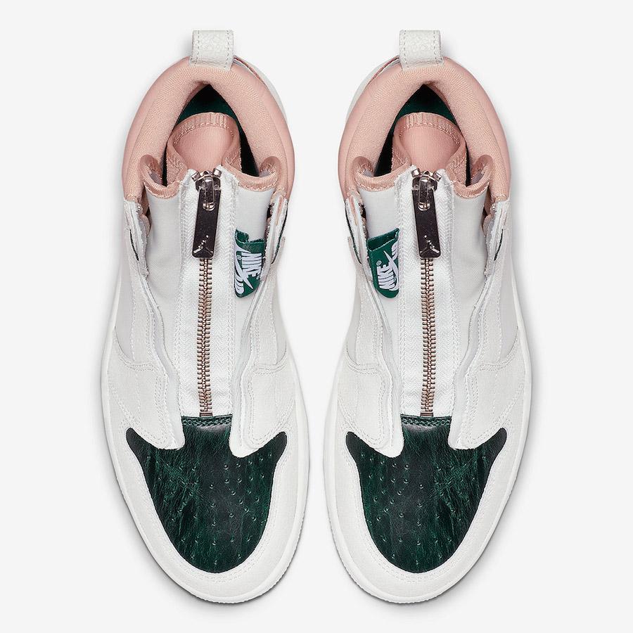 Air Jordan 1 High Zip Mystic Green AQ3742-003 Release Info